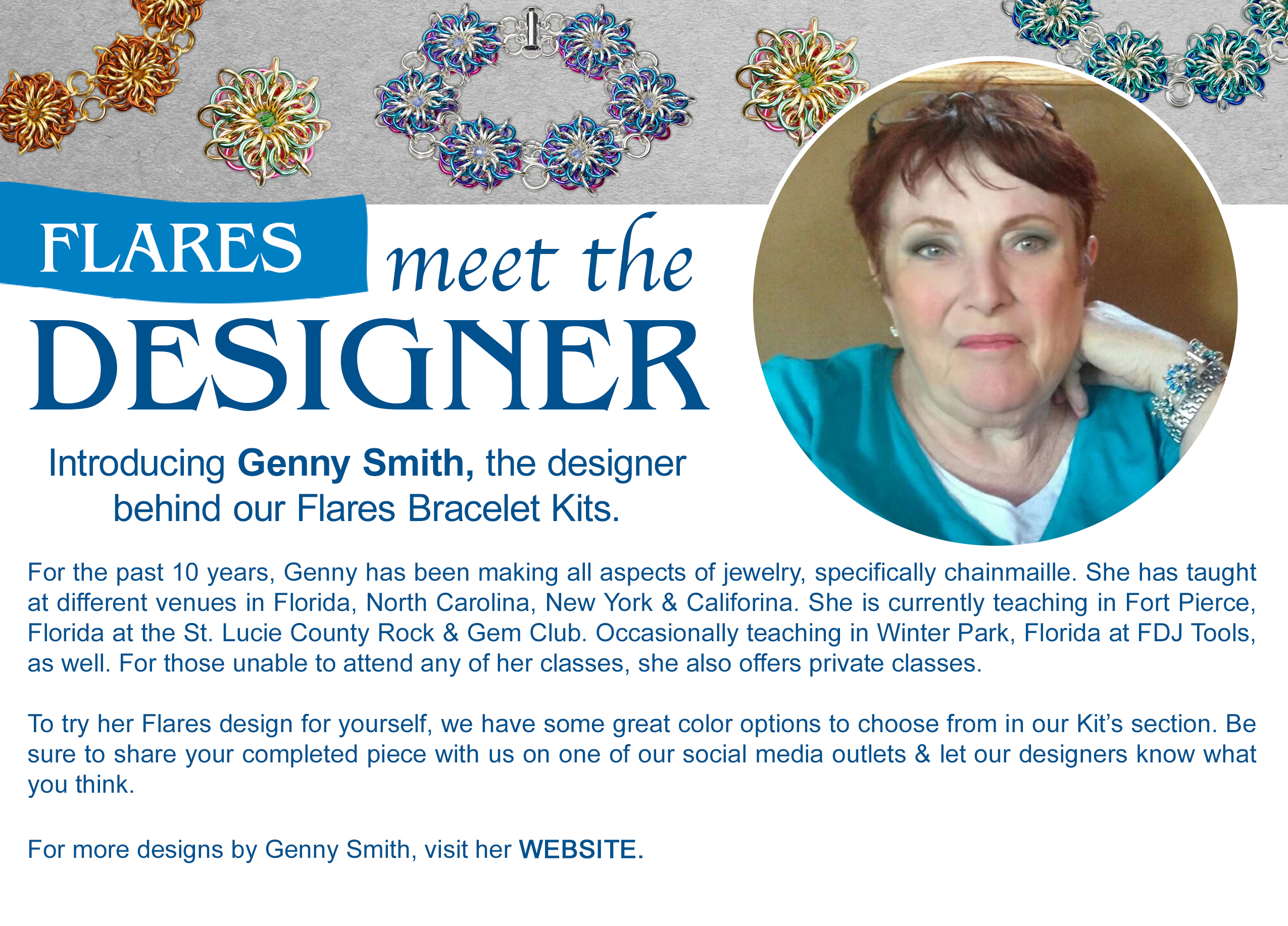 Genny Smith Chainmaille Jewelry